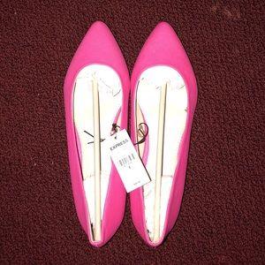 NWT Express Pink Ballet Flat